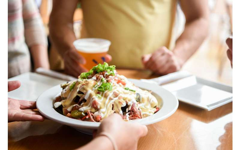 Our nachos are a great crowd pleaser!