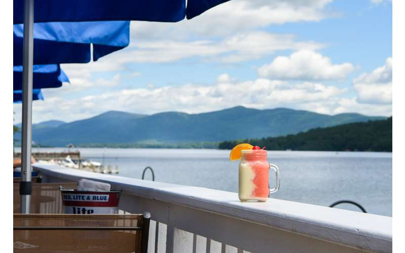 We have the views and the drinks of summer.