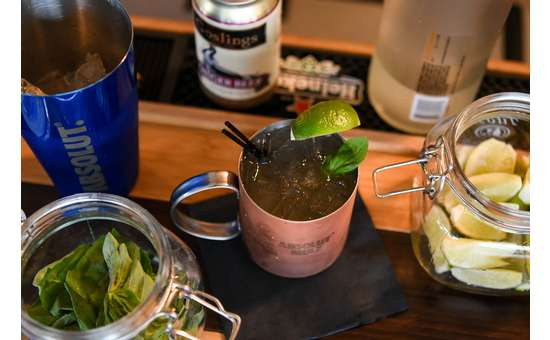 Looking for tasty craft beverages? Lake George Beach Club offers seasonal cocktail options.