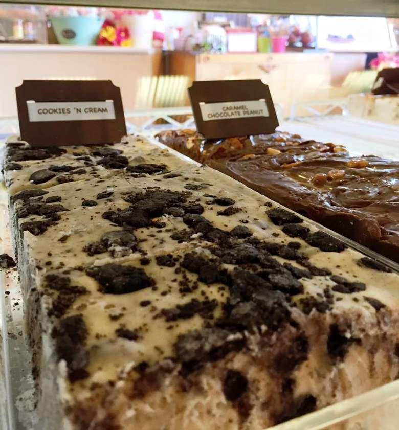 oreo and chocolate fudge