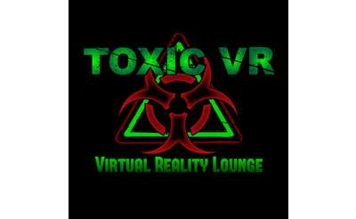 Toxic Virtual Reality Lounge logo