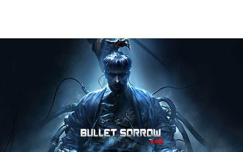 logo for Bullet Sorrow, a virtual reality game