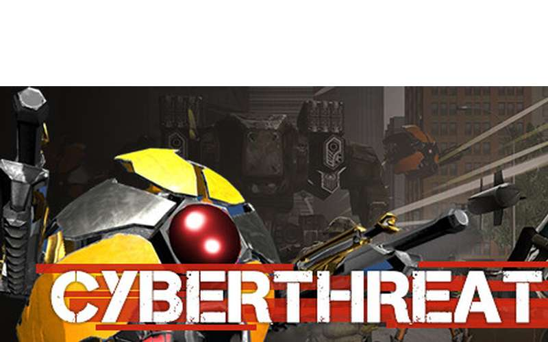 logo for virtual reality game Cyber Threat