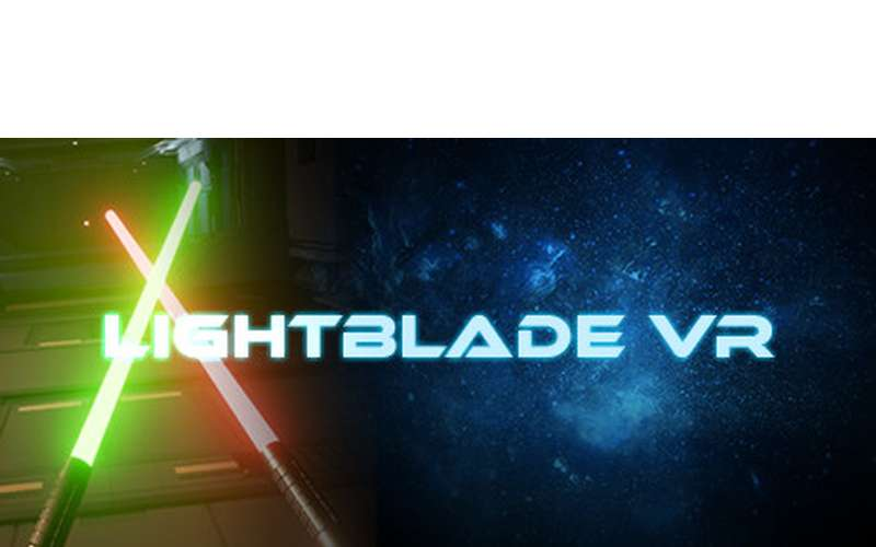 logo for virtual reality game Lightblade