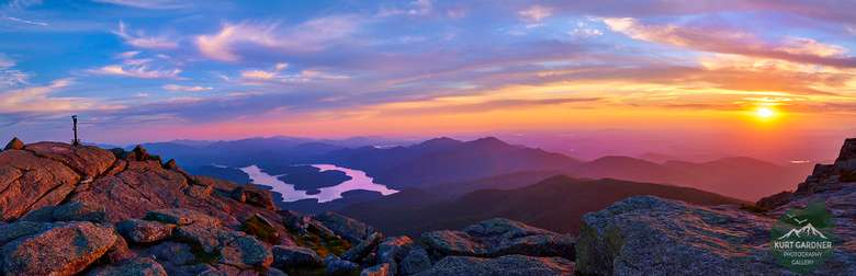 Lake Placid from the top of Whiteface