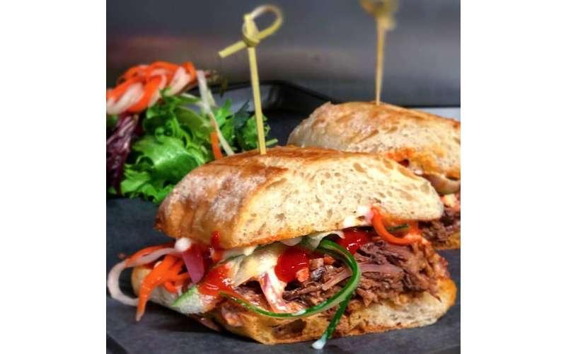 thick sandwich