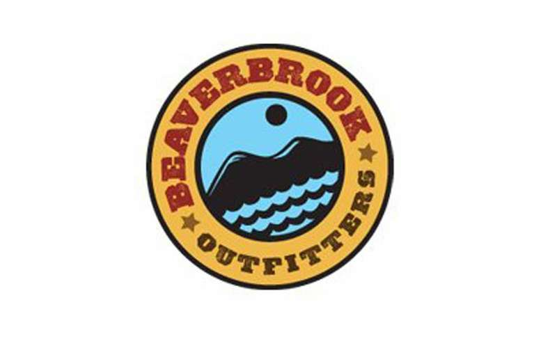 the logo for beaver brook outfitters