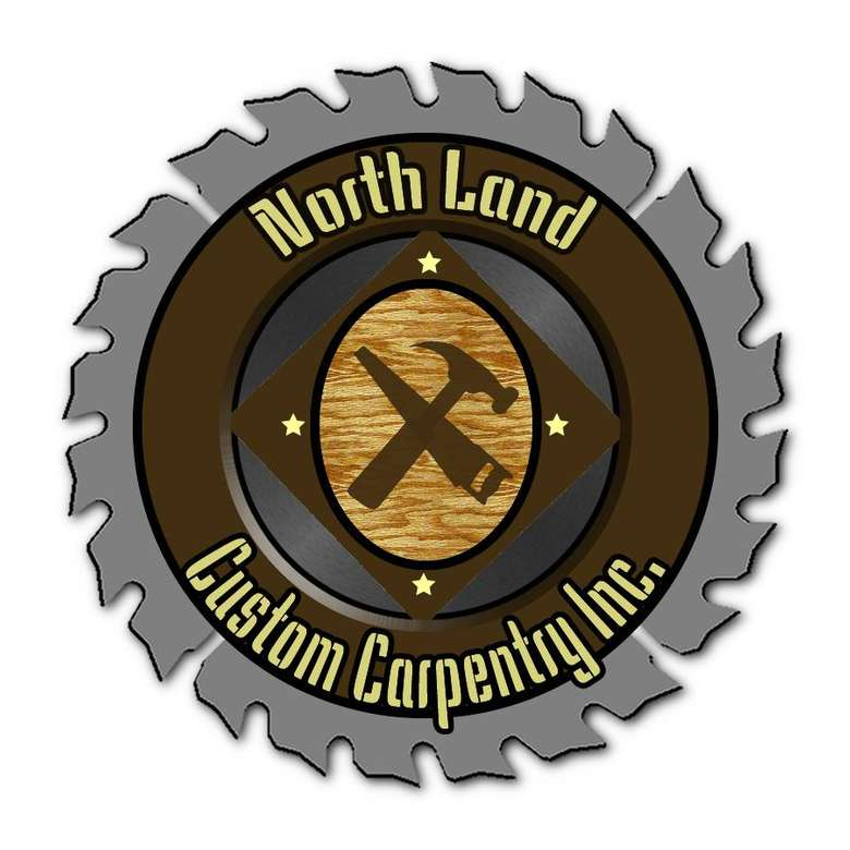 the logo for northland custom carpentry inc