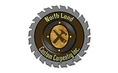 the logo for northland custom carpentry inc