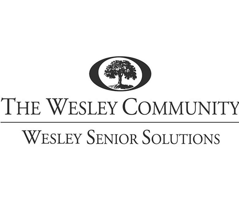 the logo for the wesley community's senior solutions
