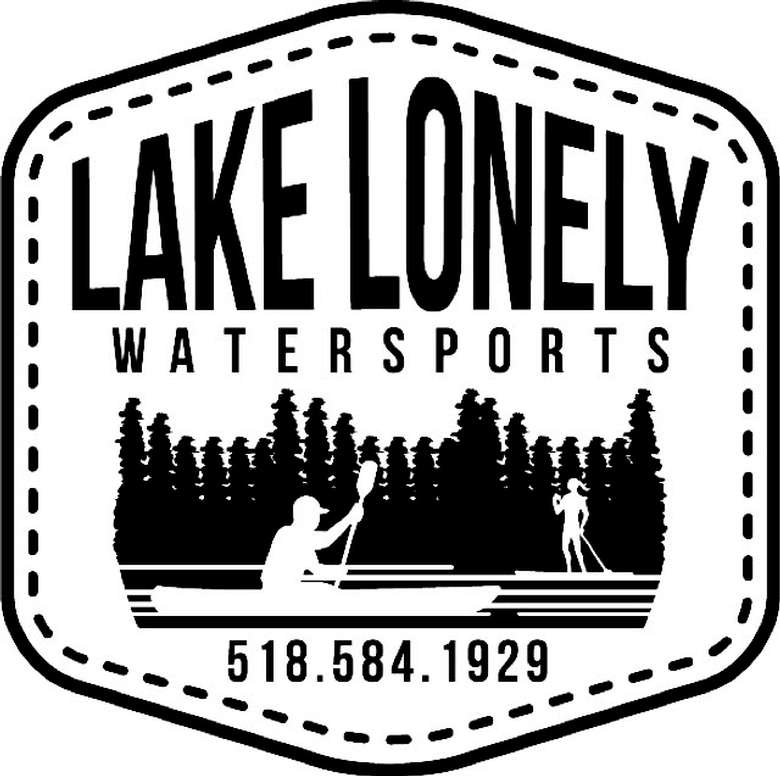 the logo for lake lonely watersports