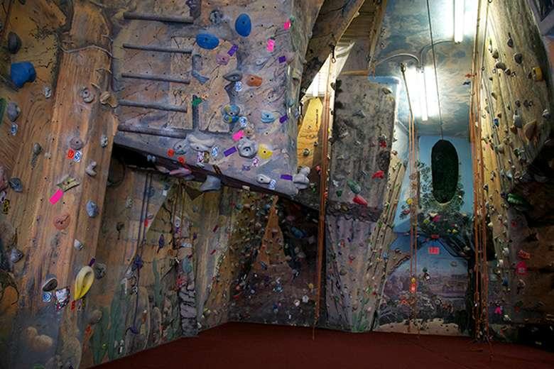 walls for indoor rock climbing