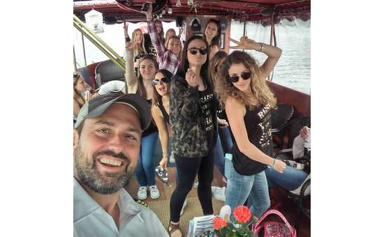 Bachelorette Party on Adirondack Cruise & Charter boat