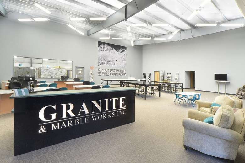 interior of Granite & Marble Works, Inc