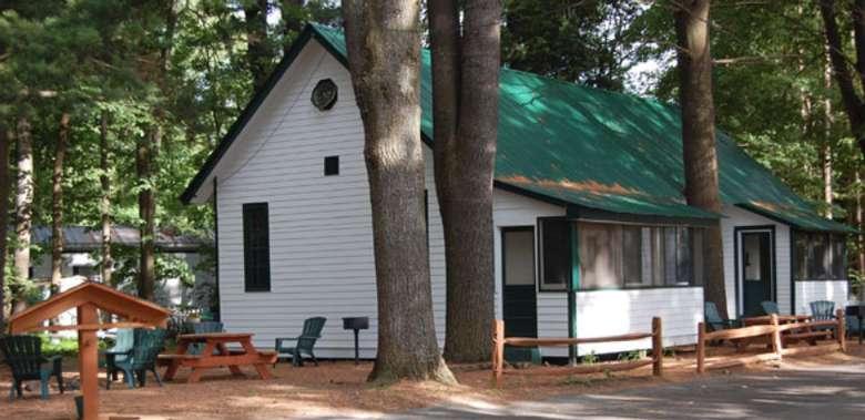 exterior of Adirondack Beach House