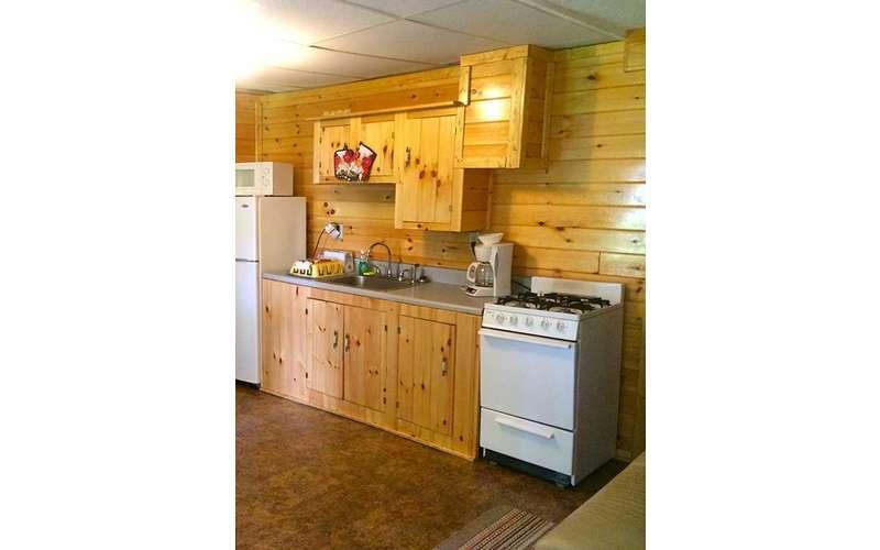 kitchen in Sacandaga Lodge