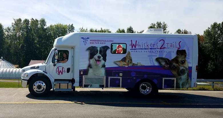 Whiskers2Tails Mobile Veterinary Clinic exterior shot 2
