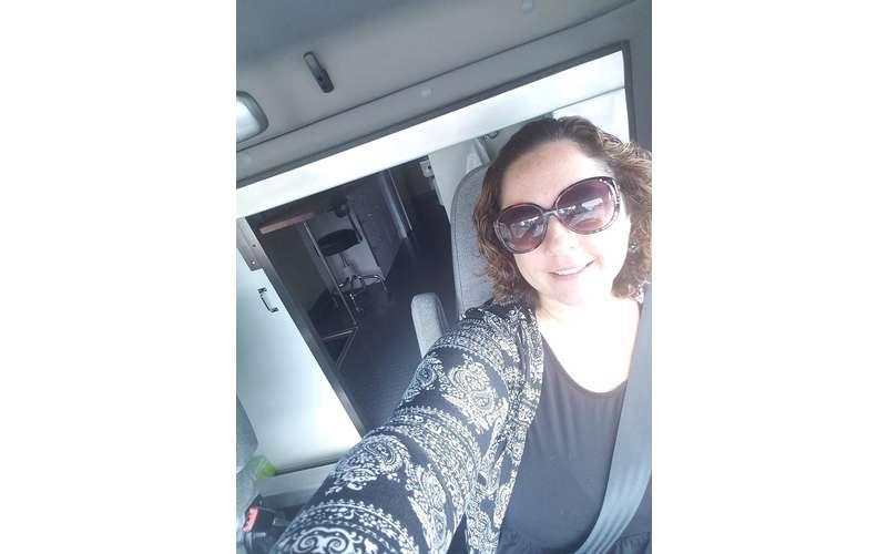 selfie of Dr. Aimee Heidi