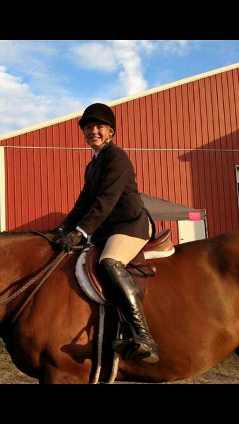 Happy Confident Students at a Local Horse Show