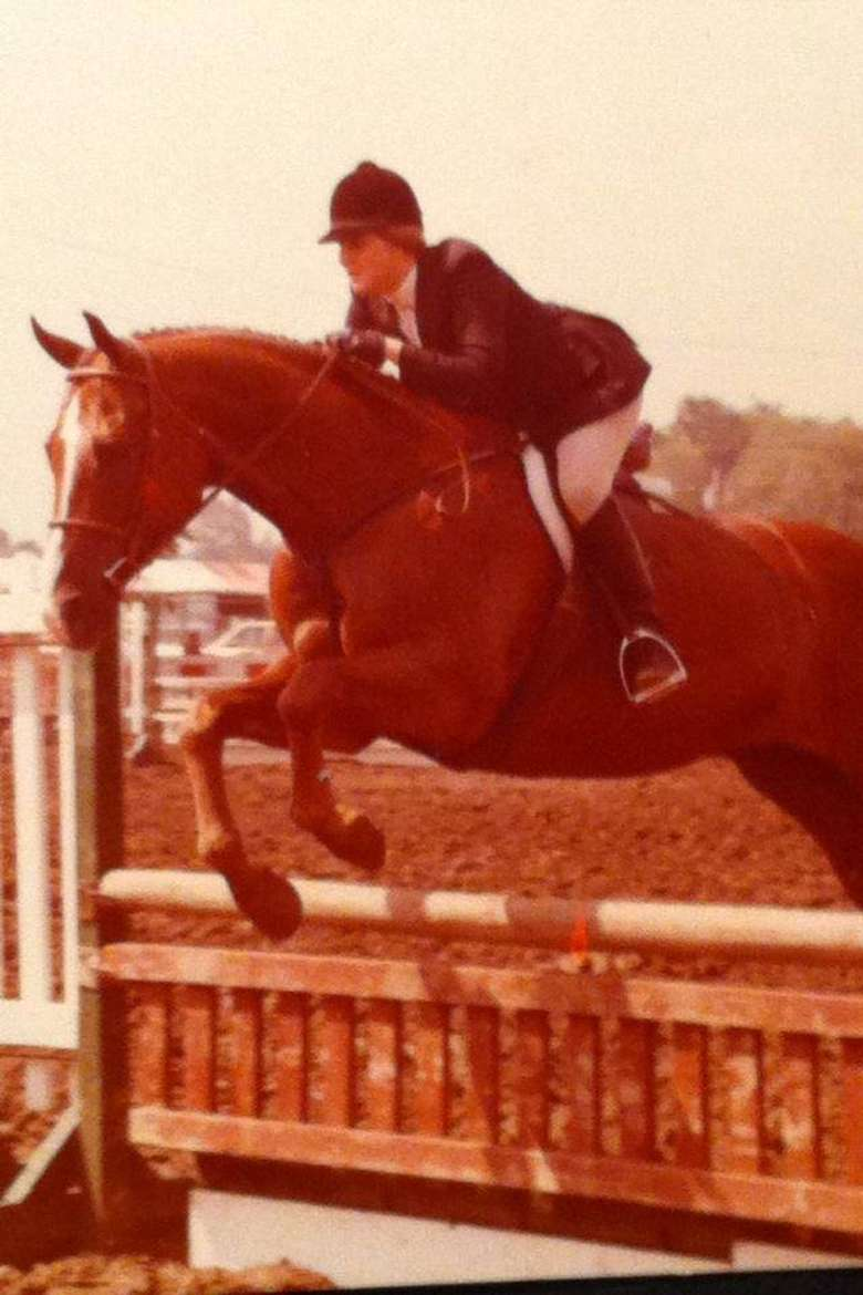 Riding Instructor Whitney Mulqueen Showing in Erie, NY as a Junior