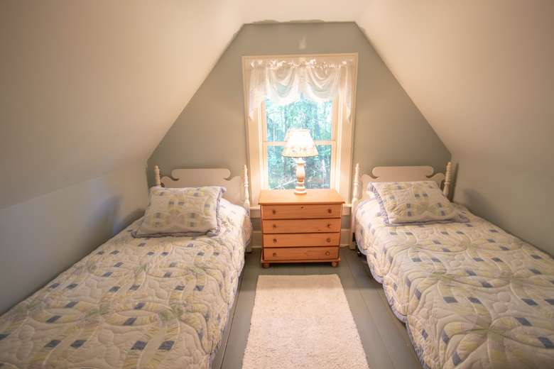 Twin Beds in one of the bedrooms