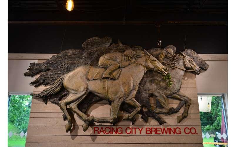 racing city brewing logo