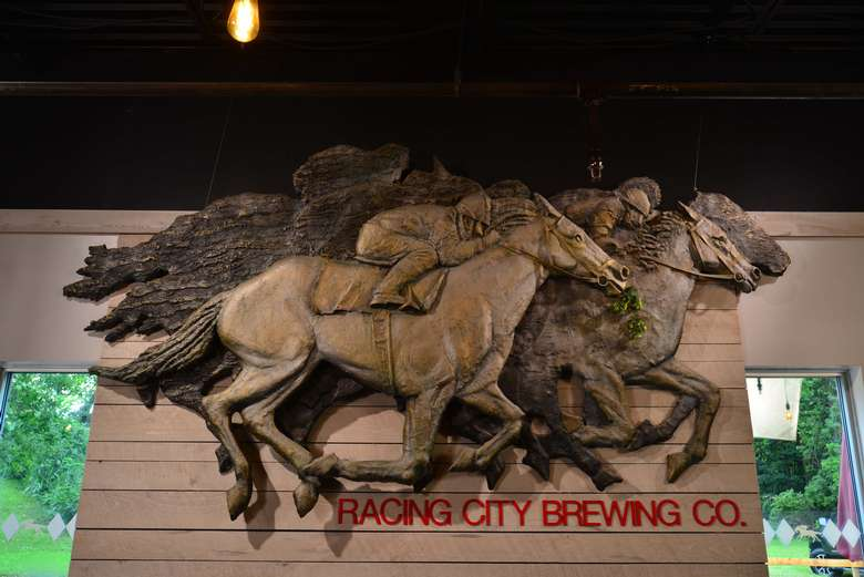 racing city brewing logo