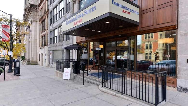 sidewalk by Fairfield Inn and Suites