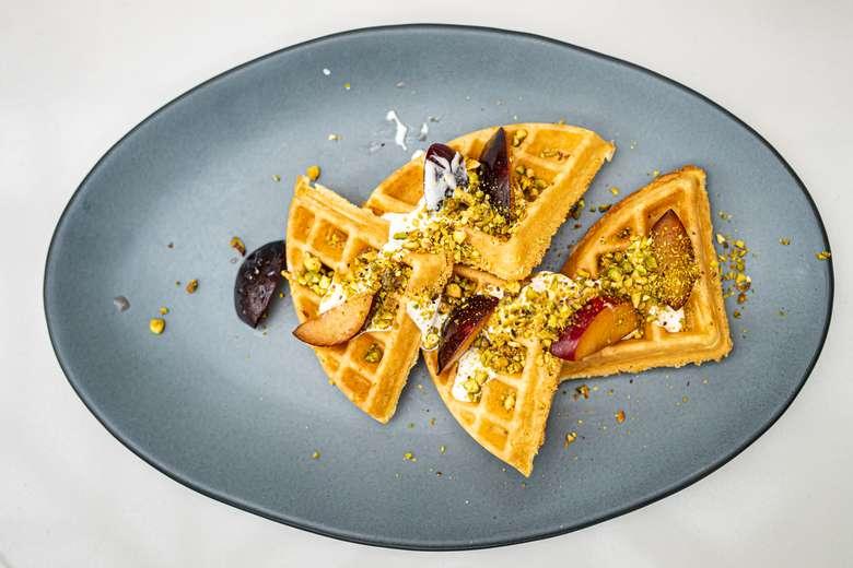 Belgian Waffle - Breakfast