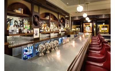 a bar area