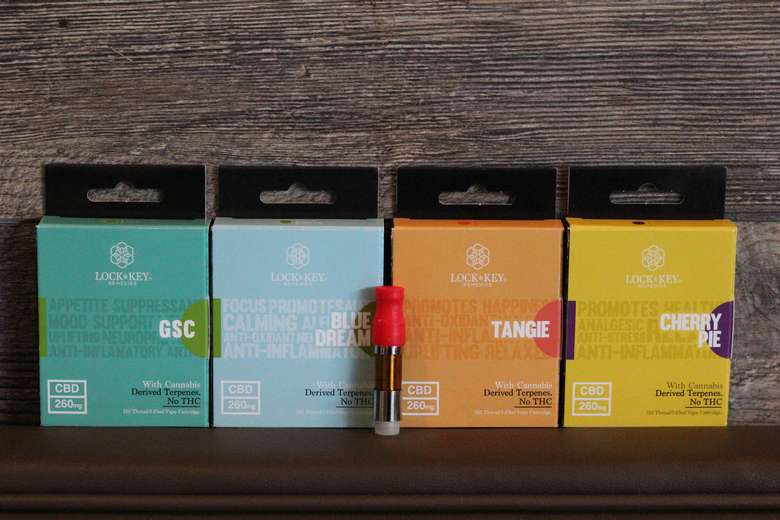 Lock & Key Full Spectrum CBD Cartridges