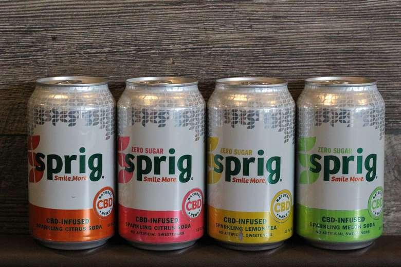 Spring CBD Soda