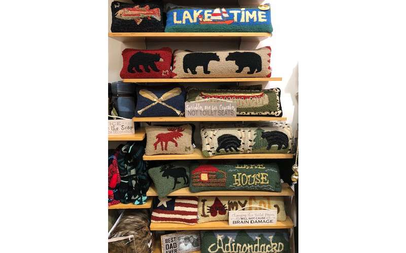 adirondack and themed pillows