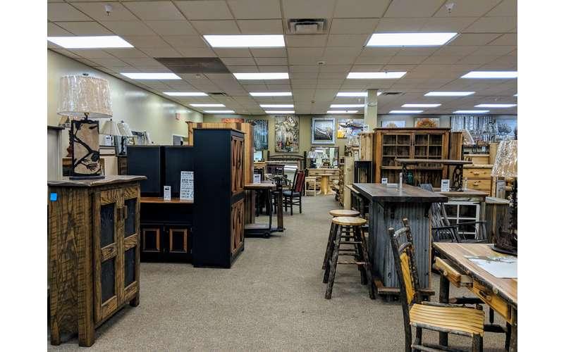 a furniture store