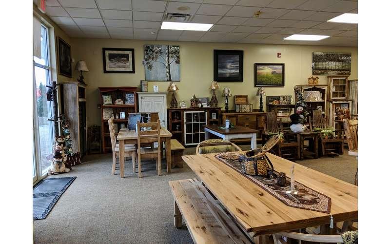 furniture in a furniture store