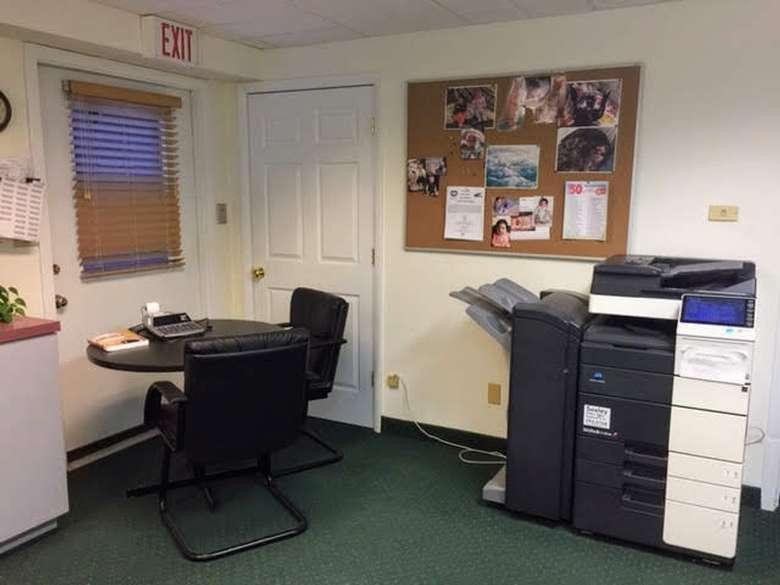 inside of an office