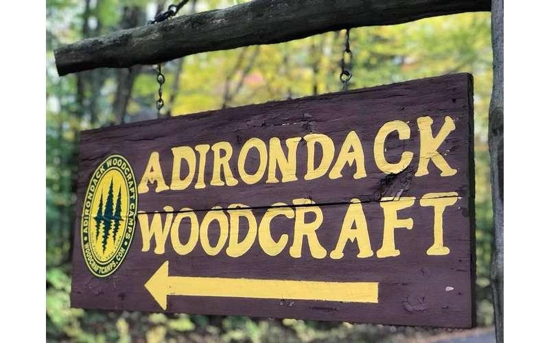 sign for Adirondack Woodcraft