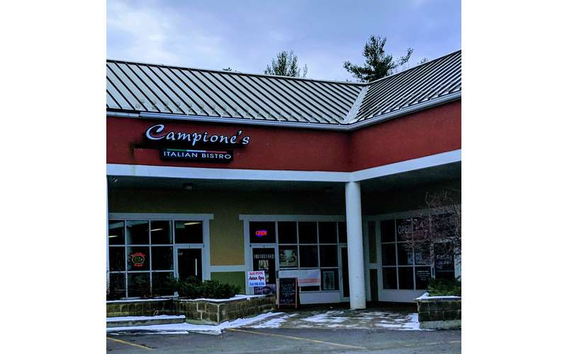 Campione's Italian Bistro is a high-end deli serving breakfast and lunch.