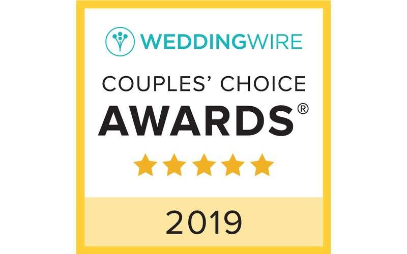 Wedding Wire Couple's Choice Winner!