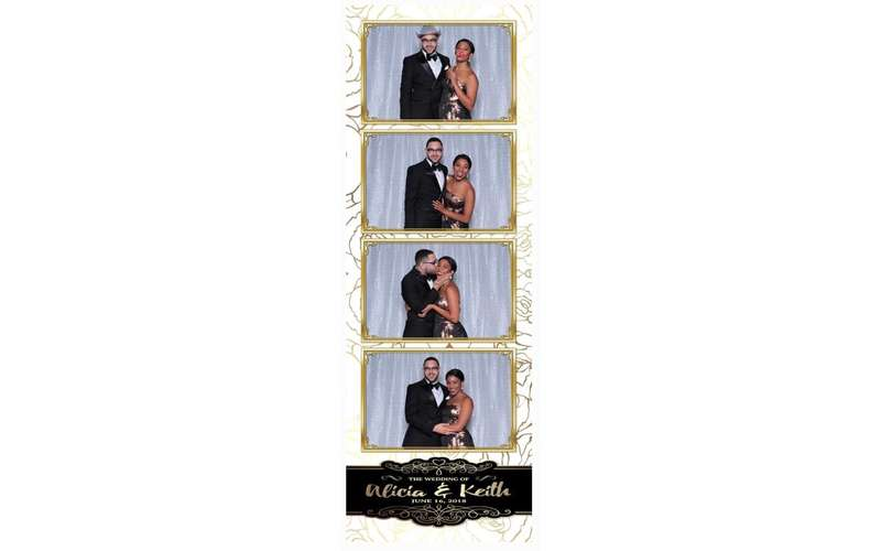 photo booth printed strip
