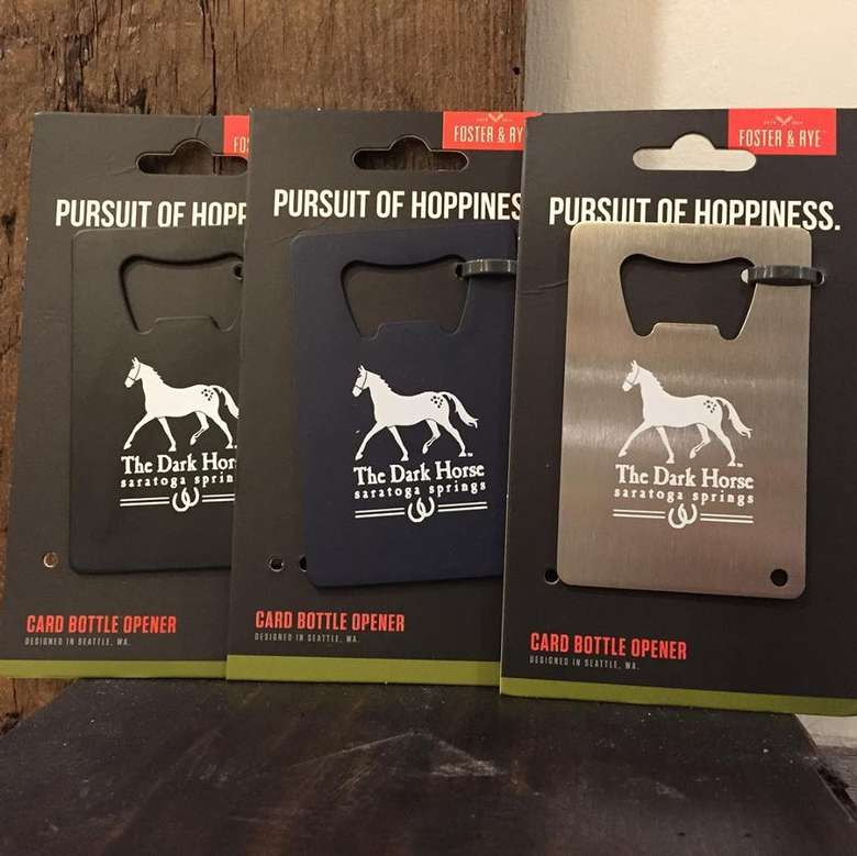 horse beer and card openers