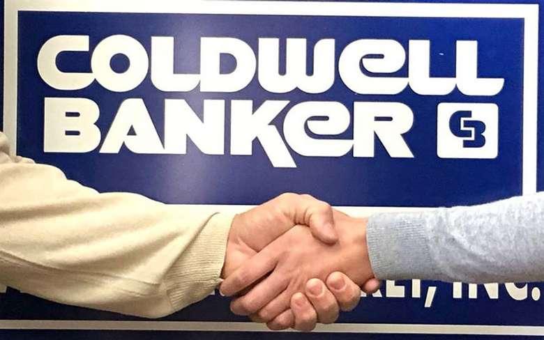 coldwell banker logo and handshake