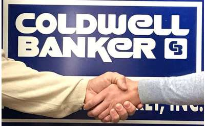 coldwell banker logo and handshake