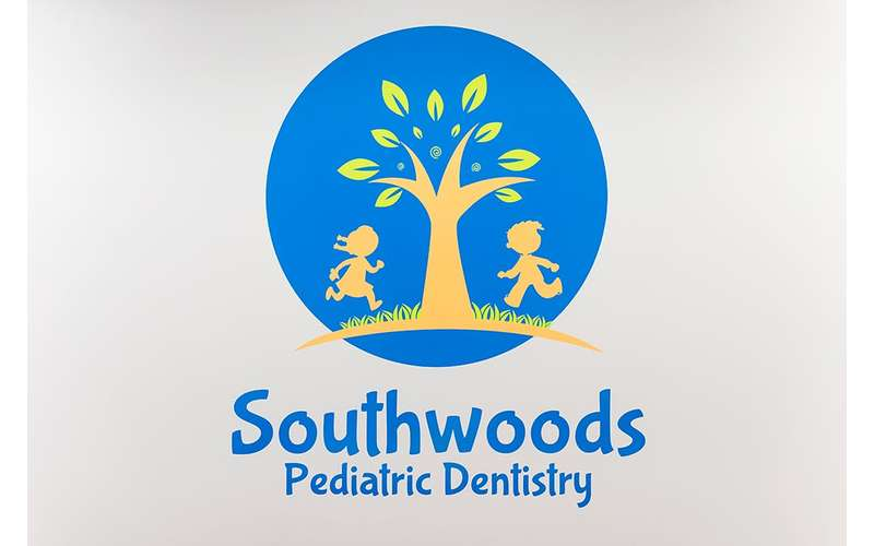 logo for southwoods pediatric dentistry