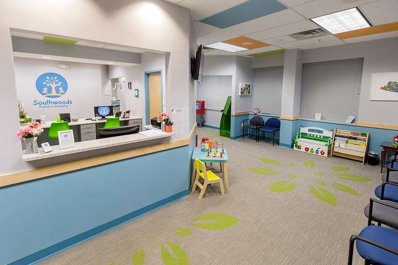 lobby room in a dental office
