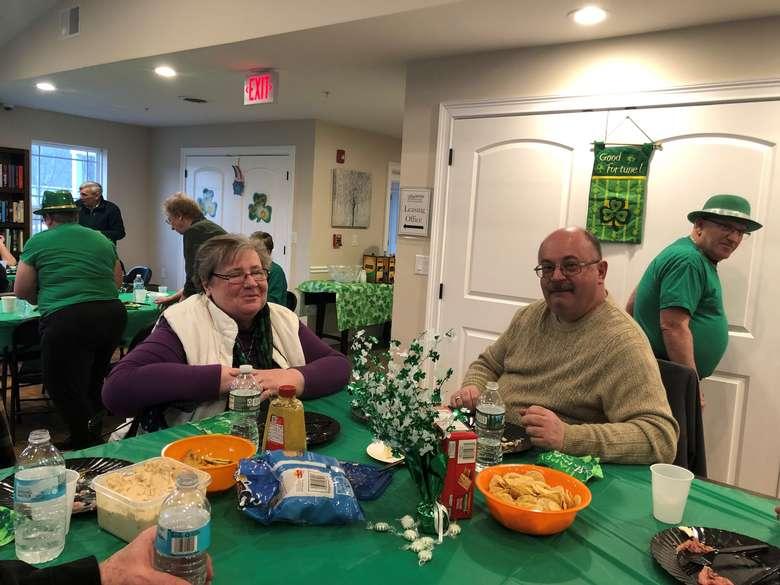St. Patrick's day gathering