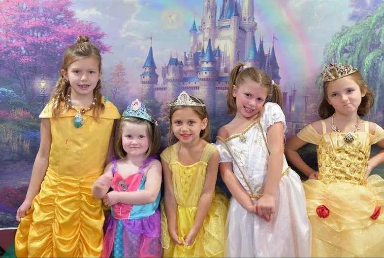 group of princesses
