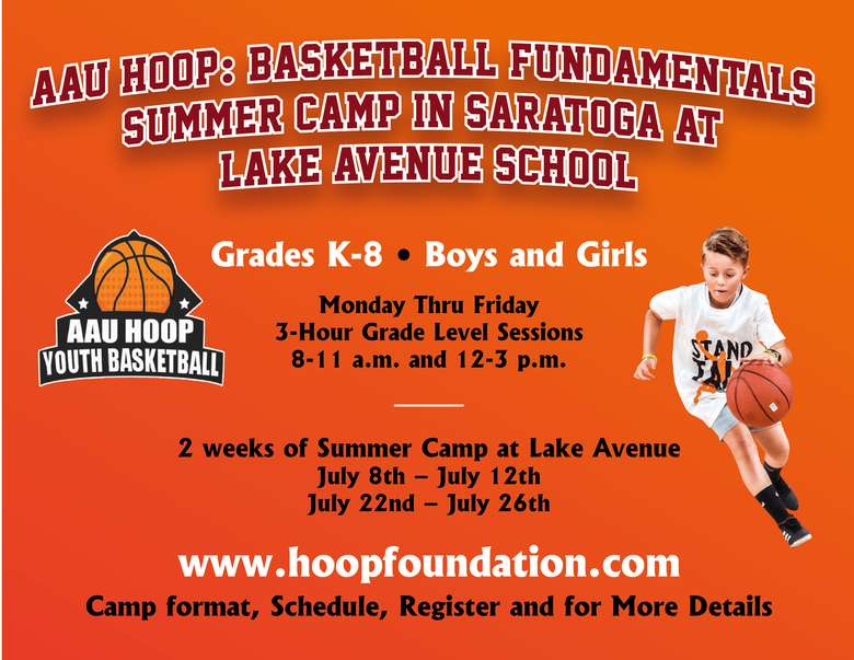 youth basketball summer camp info image