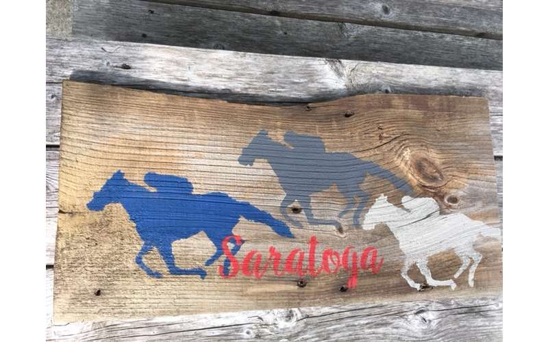 Saratoga Reclaimed Wood Art $30