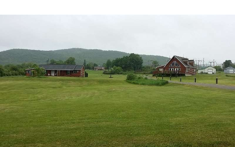 Both houses on field